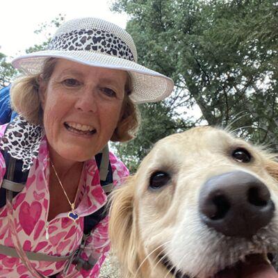 hiking-w-dog