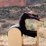 suzanne on pilates equipment